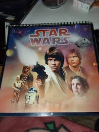 Star Wars 1996 calendar in excellent condition nev