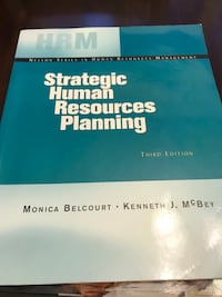 HRM Strategic Human Resources Planning textbook