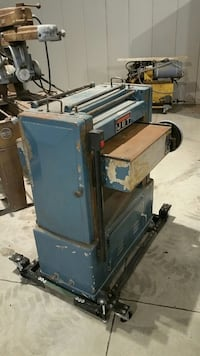 JET BRAND 20 inch thickness planer. 5 horse power 3Phase Fort Atkinson, 53538