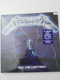 Metallica - Ride The Lightning metal plak 19 Mayıs Mahallesi, 34360
