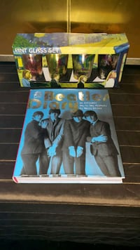 Beatles Book & Glassware