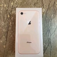 Bnib iPhone 8 gold unlocked full warranty Mississauga, L5C 3M7