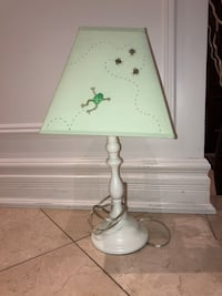 White and green table lamp Vaughan, L4L 8J4