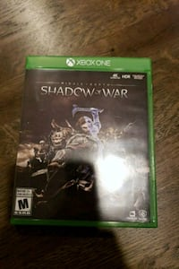 Xbox One Shadow of war Port Colborne, L3K 5Z1