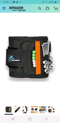 Magnetic Wrist Band Tool Belt With Super Strong Magnets