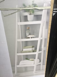 Shelf storage decor ladder Toronto, M1E 4Y3