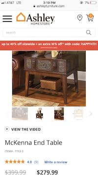 Console table and 2 end tables  San Antonio, 78233