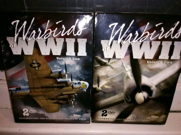 WW2 DVD set, 2 dvds a piece, like new
