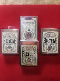 Bicycle Bourbon  deck.