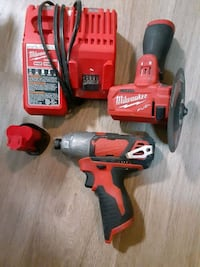 Milwaukee M12 impact battery and charger 'cut off' gone!