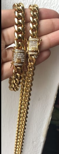 Cuban links set  213 mi