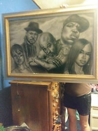 Tupac Shakur painting wall decor Augusta, 30906