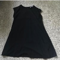 women's black spaghetti strap dress Santa Cruz