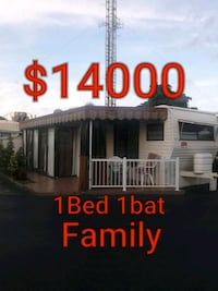 Mobile home for sale 1bed 1bat Hollywood