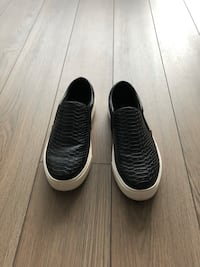 Aldo Black Slip On Sneakers Size 6
