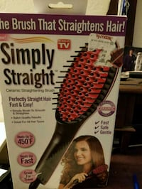 Simply Straight hair straightener box