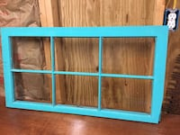 blue wooden framed glass window Forsyth, 31029