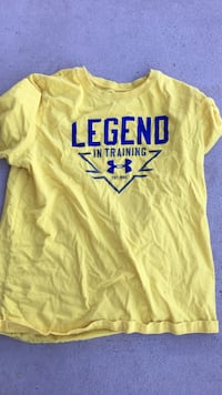 yellow and blue legend scoop neck t-shirt Hagerstown, 21742