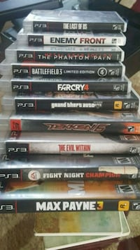 10games+4 downloaded+3ctrls Ps3system80Gb=packageDeal