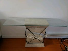 Coffee and console tables matching set