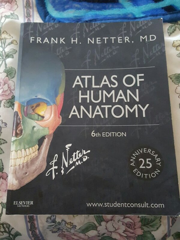 Used Atlas Of Human Anatomy 6th Edition By Frank H Netter Md For