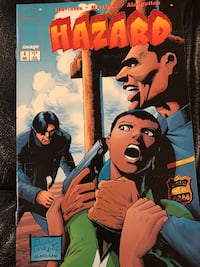 Image Comics Hazard #4, August 1996 564 km