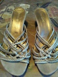 pair of gray-and-brown sandals Ville Platte, 70586