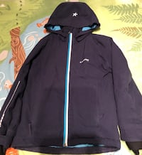 Everest - Svart og hvit zip-up jakke 5942 km