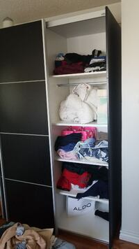 jysk closet wardrobe with shelves