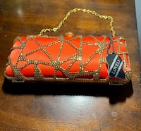 Beautiful red purse- New!