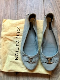 Louis Vuitton Oxford Ballerina flat sko, str. 40 OSLO