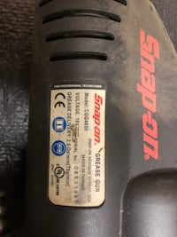 CGG4850 Snapon grease gun 18V (battery operated).