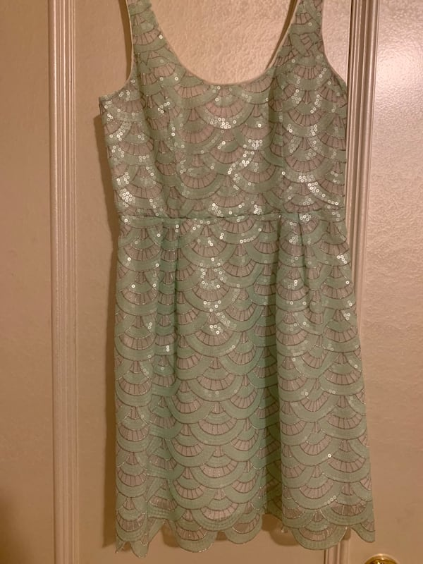 BEBE SEQUIN COCKTAIL DRESS- Size Small (worn once) 0762e550-36c4-4ab2-b7f0-ae5a6d247f01