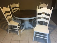 Farmhouse style oak table and 6 chairs Antioch, 94509