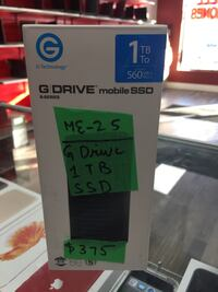 G DRIVE MOBILE SSD 1TB Mississauga, L5M