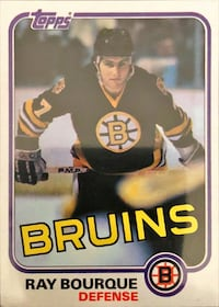 "82-83 Topps Ray Bourque ""2nd Year"" Toronto, M9M 1K6"
