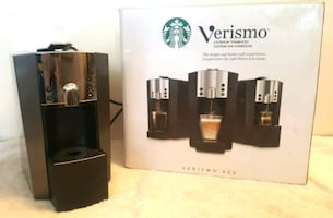 BNIB Starbucks Verismo 600