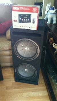 """Two 12""""S Kickers Amp  Bakersfield, 93306"""
