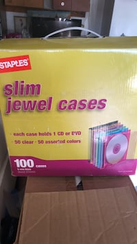 100 slim jewel cases Petaluma, 94954