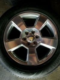 New tires and rims Burbank, 91505