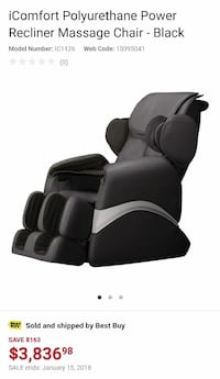 Massage chair Langley, V1M
