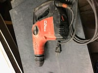 orange and black Milwaukee corded power drill Edmonton, T5P 3E2