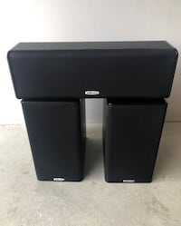 Polk Audio L/C/R Bookshelf Speakers