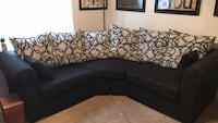 Black sectional couch. Practically new. Price negotiable  Springfield, 22153