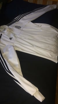 ADIDAS TRACKSUIT TOP WHITE/BLACK STRIPES Toronto, M3K 1E7