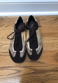 Coach Black and Gold Sneakers  Vaughan, L4J 8K5