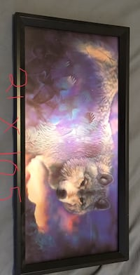 Hologram wolf picture  Sherwood Park, T8A 4H9