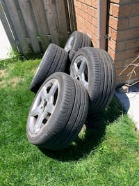 Summer rims and tires245-40-17 for clk Brampton