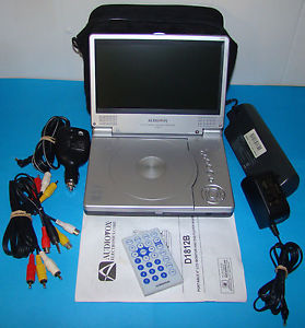 Audiovox Slim Line Portable DVD Player Game System