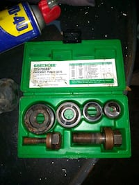 Greenlee knockout punch set 735/735bb Hyattsville, 20783